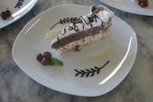 Torta de Arroz Basmati com Chocolate e Avelã